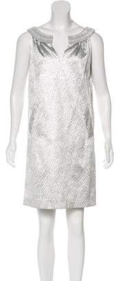 Alberta Ferretti Metallic Sleeveless Dress w/ Tags