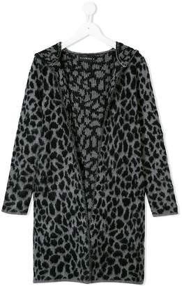 John Richmond Junior leopard cardi-coat