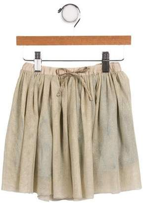 Marie Chantal Girls' Metallic Tulle Skirt