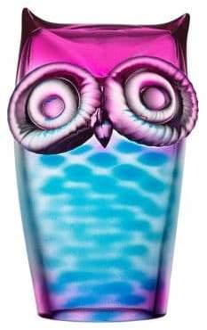 Orrefors Owl Sculpture