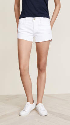 Frame Le Cuttoff Shorts with Tulip Hem