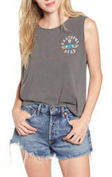 Junk Food Clothing Grateful Dead Hieroglyphic Sleeveless Cotton Tee
