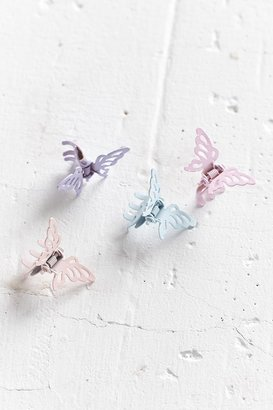 Urban Outfitters Metal Butterfly Clip Set $10 thestylecure.com