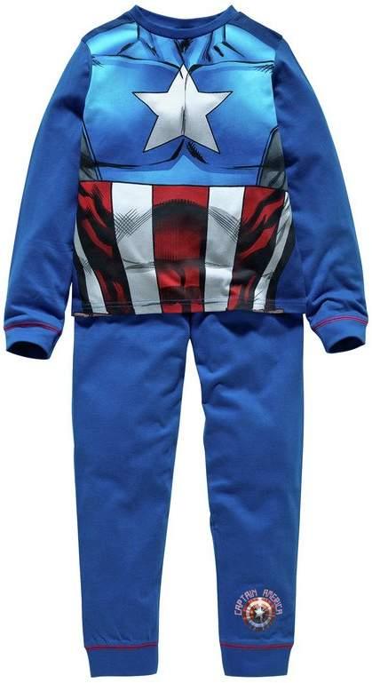 Captain America Novelty Pyjamas - 7-8 Years