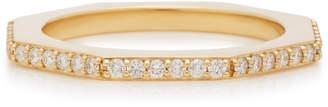 Miansai Bly 14K Gold Diamond Ring