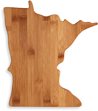 Totally Bamboo Minnesota Cutting/Serving Board