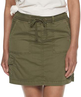 Women's Clothing Clothing, Shoes & Accessories Sonoma Size 8 Linen Olive Green Skirt