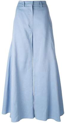 Peter Pilotto flared godet trousers