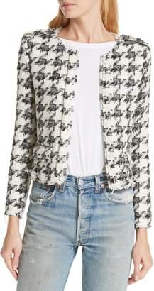 IRO Houndstooth Tweed Jacket