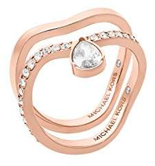 Michael Kors Womens -Tone Ring Set