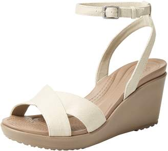 Crocs Women's Leigh II Ankle Strap Wedges