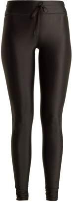 The Upside Drawstring-waist performance leggings