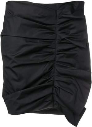 Victoria Victoria Beckham ruched mini skirt