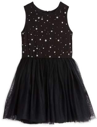 Pippa & Julie Girls' Star-Print Tutu Dress - Little Kid