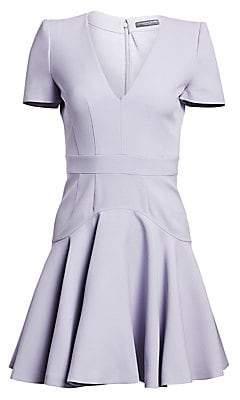 Alexander McQueen Women's Fluted Mini Dress