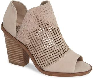 Vince Camuto Fritzey Perforated Peep Toe Bootie