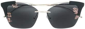 Prada cat-eyed frame sunglasses