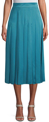 Fendi Pleated Midi Skirt