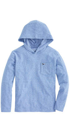 Vineyard Vines Boys Long-Sleeve Performance Edgartown Hoodie T-Shirt