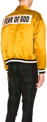 Fear Of God Satin Coaches Jacket