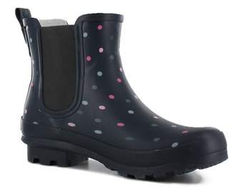 Western Chief Dazzling Dots Chelsea Rain Boot