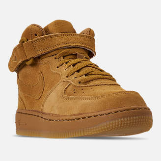 Nike Boys' Little Kids' Force 1 Mid LV8 Casual Shoes