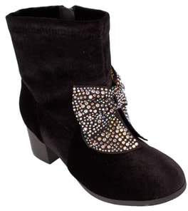 Jessica Simpson Crystal Bow Bootie