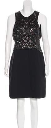 Issa Silk-Blend Dress black Silk-Blend Dress