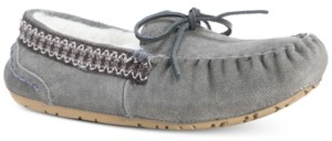 Muk Luks Women's Jane Suede Moccasin Slippers