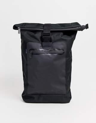 Ben Sherman canvas backpack in black