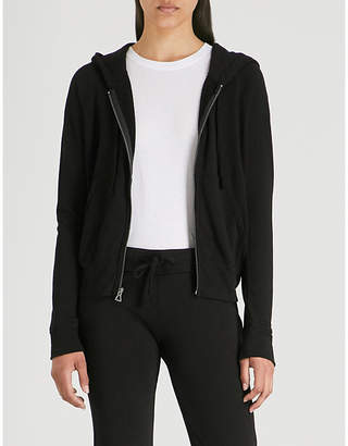 James Perse Cotton-jersey hoody