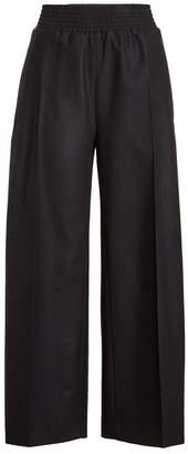 Jil Sander Wide Leg Virgin Wool Pants