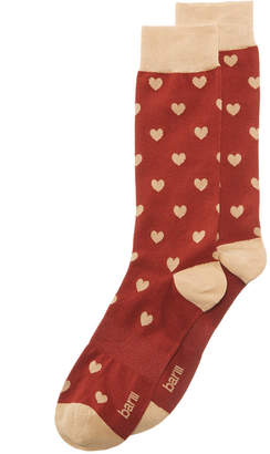 Bar III Men's Heart Socks, Created for Macy's