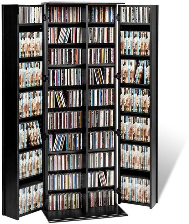 Prepac Large Deluxe Storage with Locking Shaker Doors