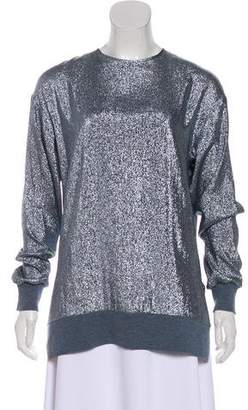 Stella McCartney Metallic Long Sleeve Tunic