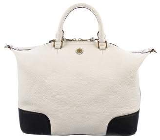 Tory Burch Leather Top Handle Satchel