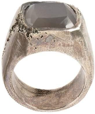 Tobias Wistisen moon stone embellished ring