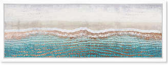 Oliver Gal Rose Gold Sandy Beaches By The Artist Co. Canvas Art