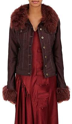 Sies Marjan Women's Fur-Trimmed & Shearling-Lined Jacket