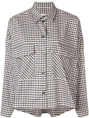 MM6 MAISON MARGIELA angular check shirt