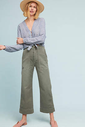 Amo Utility Cropped Wide Legs