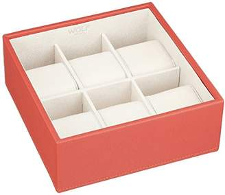 Wolf 309742 Stackable 6 Piece Watch Tray