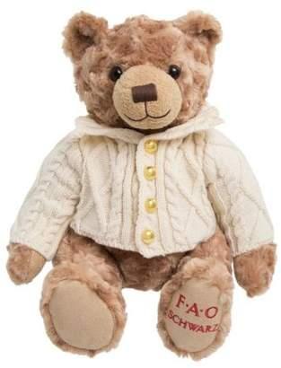 NEW FAO Schwarz Toy Plush Anniversary Bear