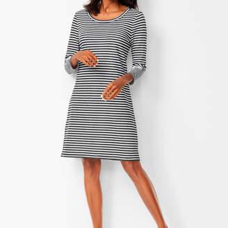 67b734c7 Plus Size Black And White Striped Dress - ShopStyle