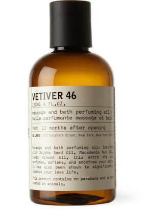 Le Labo Vetiver 46 Body Oil, 120ml