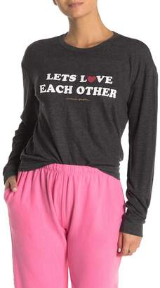 Spiritual Gangster Lets Love Each Other Pullover