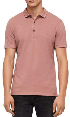 AllSaints Reform Slim Fit Polo Shirt