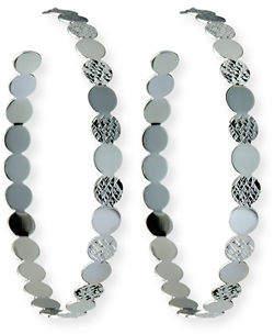 Jennifer Zeuner Jewelry Ines Hoop Earrings