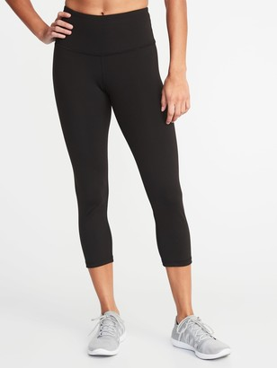 Old Navy High-Waisted Elevate Compression Crops For Women