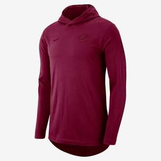 Nike Cleveland Cavaliers Men's Hooded Long-Sleeve NBA T-Shirt